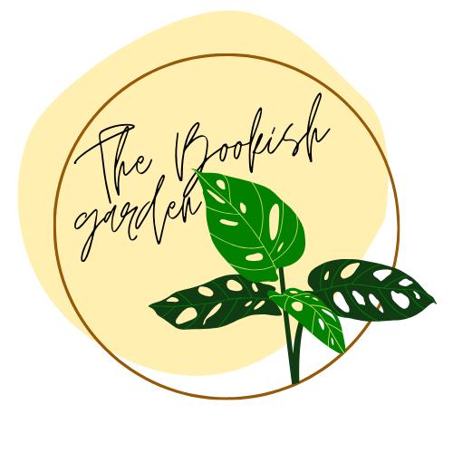 Le titre du blog sur un fond jaune, avec une plante en premier plan
