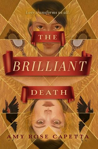 La couverture de roman The Brilliant Death