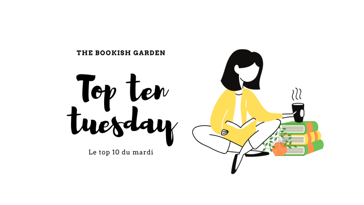 Annonce du titre de l'article Top ten tuesday
